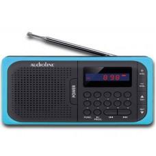 Φορητό Ραδιόφωνο Audioline TR-210 Μαύρο-Μπλε